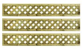 Wooden Trellis Panels Green Fence Panels Diy