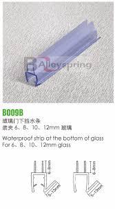 Plastic Shower Door Seal B009b Of Rubber Auto Door Seal Plastic Glass Sealing