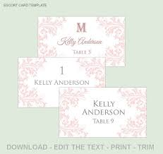 best 25 printable wedding place cards ideas on pinterest