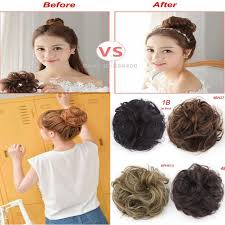 hair pieces for women 20 best elastic hair bun extension images on pinterest chignons