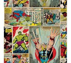 marvel wrapping paper marvel comic panel search puny humans