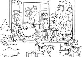 coloring pages free coloring pages christmas free
