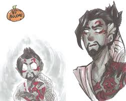 reaper background overwatch halloween overwatch fans rejoice hanzo has three amazing legendary skins
