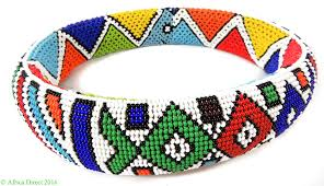 ndebele beadwork collar ring necklace south africa 9 inch