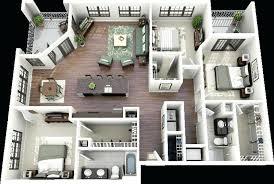 Three Bedroom Design Three Bedroom Home Plans Ipbworks