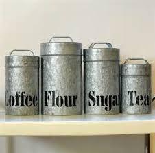kitchen canister sets vintage 178 best vintage canister sets singles images on