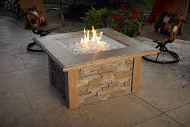 Outdoor Table With Firepit by Sierra Fire Pit Table With Cf 2424 By The Outdoor Greatroom
