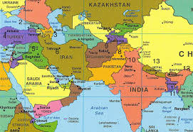 middle east map and capitals iran s capacities for creating security and stability in asia