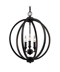Entryway Chandeliers Stylish Black Sphere Chandelier Shop Chandeliers At Lowes