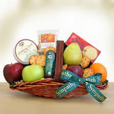 sympathy gift baskets free shipping sympathy fruits abound sympathy gift baskets