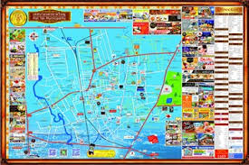 map of hat yai hatyai map 2017 big map thailand