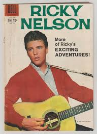 comic book color four color comics ricky nelson vol 2 998 silver age comic