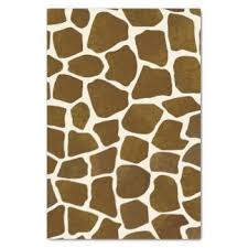 leopard print tissue paper animal print craft tissue paper zazzle