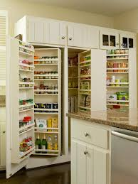 revolving pantry cabinets traditional kitchen bhg