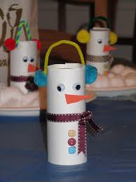 rocmomma toilet paper tube snowman craft she u0027s crafty