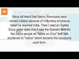 what is the origin of the word indian