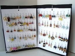 how to make an earring holder for studs how to make an earring rack diy organizer storage