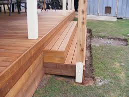 Stairs With Landing by Deck Stairs With Landing Deck Design And Ideas