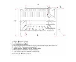 bunk bed measurements bunk bed mattress size dimensions home interior exterior
