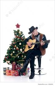 picture of christmas cowboy