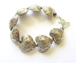 sterling silver heart bead bracelet images Jane tipton designs bracelets jpg