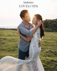 wedding dress raisa romantisnya foto prewed raisa dan hamish ini bikin baper idn times