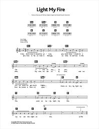 You Light My Fire Light My Fire Sheet Music By The Doors Keyboard U2013 115542