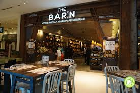 The Barn Cafe The Barn Celebrates Its Expension With A Third Outlet At Pavilion
