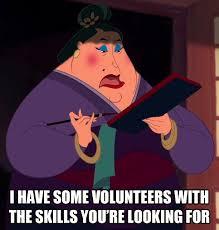 Mulan Meme - matchmaker mulan volunteer meme cilisos current issues tambah