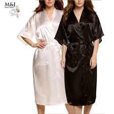 robe de chambre en satin 3xl grande taille robes de soie pour les femmes peignoir satin