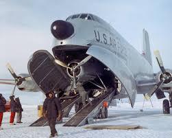 plane in plane a c 124 globemaster delivers a ski plane to