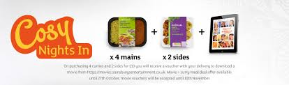 meal deal for 4 plus movie sainsbury u0027s