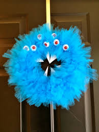 rawr a scary monster halloween wreath u2022 charleston crafted