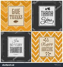 set four retro style greeting cards stock vector 163454756