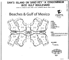 building layout for dans island sand key 1600 gulf blvd