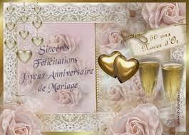 texte anniversaire de mariage 50 ans mariage carte 50 ans mariage