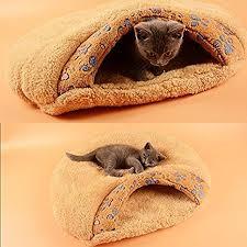 black friday cat tree deals amazon amazon com pecute cat sleeping bag warm soft puppy cat kitten