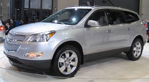 chevrolet traverse 7 seater crossover suvs with third row seating