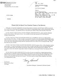 the isaac brock society letter from the irs