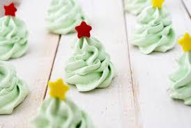 christmas tree meringue cookies recipe cake and allie