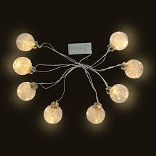 copper globe string lights shoptagr copper globe string lights by kmart