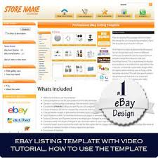 ebay template design ebay store and listing template design auctiva inkfrog