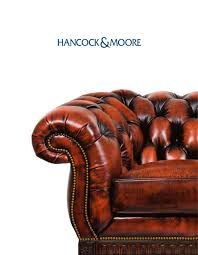 hancock and moore leather sofa hancock moore hancock and moore pdf catalogues documentation