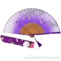 held folding fans amajiji japanese folding fan for women vintage retro