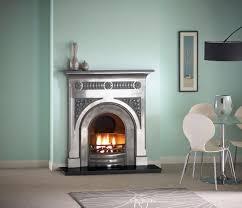 capital fairburn full polished cast iron fireplace