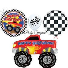 birthday balloons for men truck happy birthday balloon package birthday men boy party