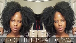 bohemian crochet hair crochet braids with freetress bohemian hair glamazini