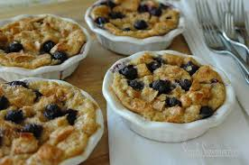 simply suzanne u0027s at home lemon blueberry bread pudding a