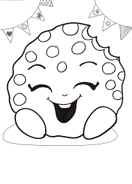 free shopkins coloring page picture coloring for kids