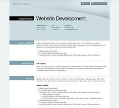 professional project proposal template software project proposal
